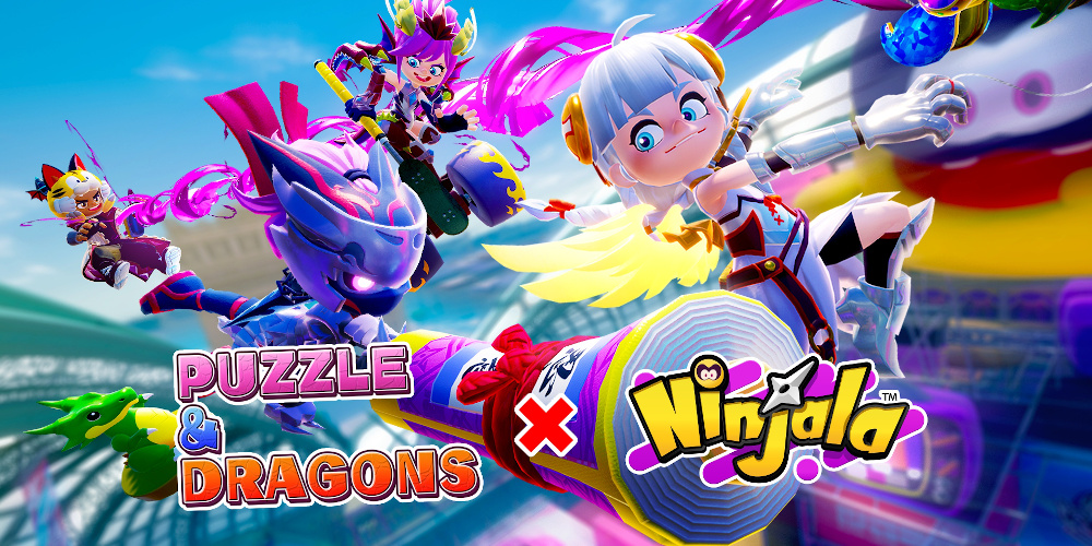 Ninjala x Puzzle & Dragons