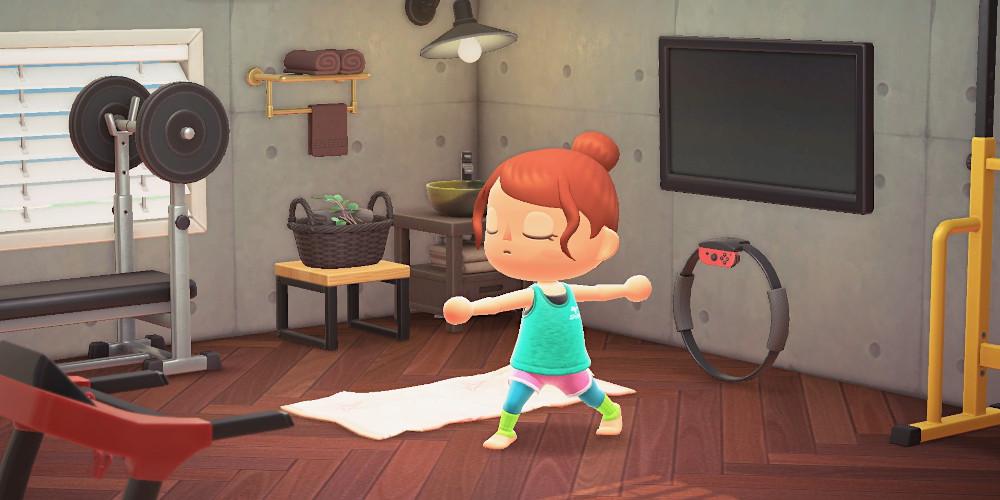 Animal Crossing: New Horizons - Yoga
