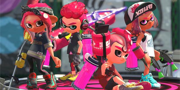 Newsbild zu CoroCoro zeigt das neue Agenten-Outfit für Splatoon 2