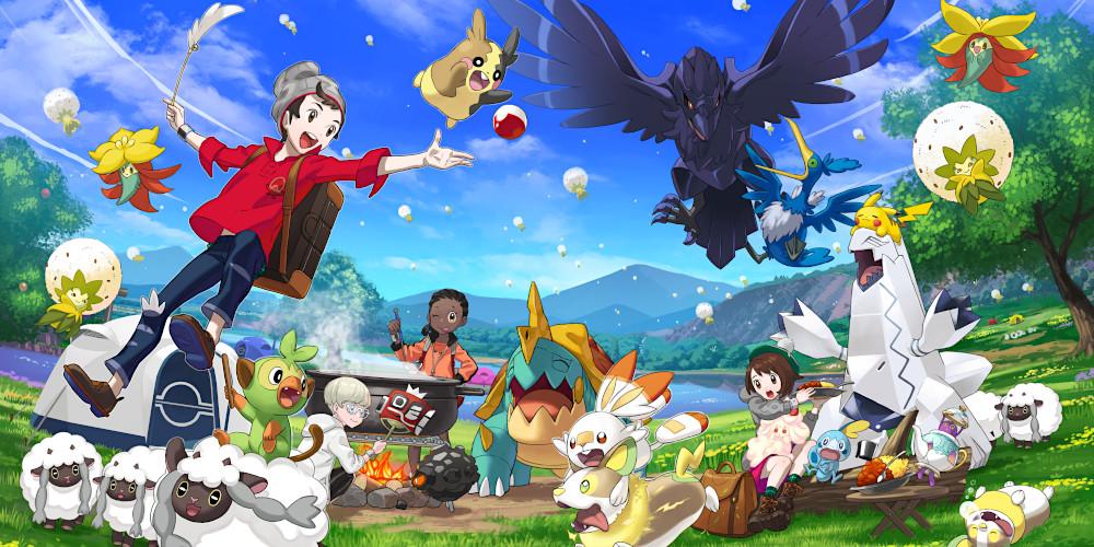 Pokémon Schwert und Schild - Camping