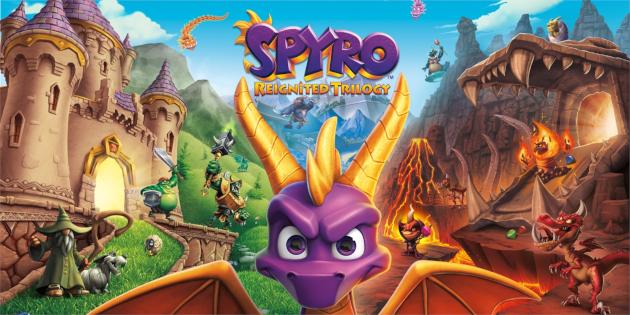 Newsbild zu Ein Artbook zu Spyro: Reignited Trilogy wird 2020 veröffentlicht