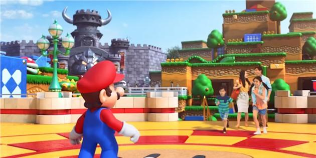 Newsbild zu Super Nintendo World: Neue Aufnahmen von Bowsers Festung veröffentlicht