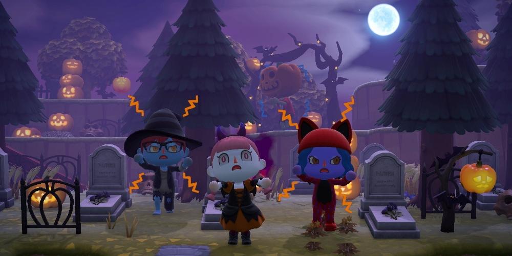 Animal Crossing: New Horizons - Herbst-Update - Halloween