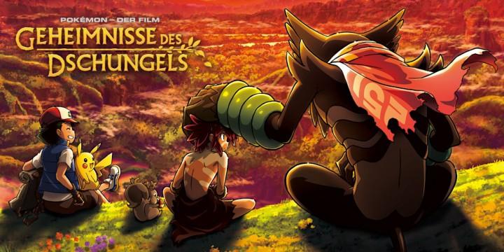 Newsbild zu Pokémon – Der Film: Geheimnisse des Dschungels für 2021 angekündigt