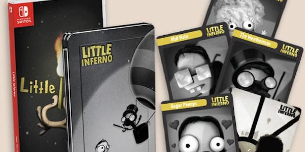Newsbild zu Streng limitiert: Little Inferno bekommt physische Version für Nintendo Switch