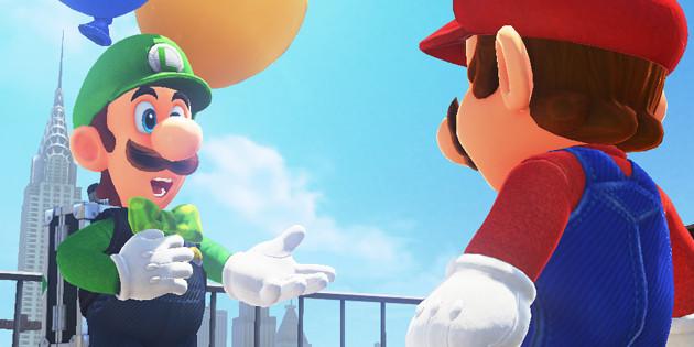 Newsbild zu Designer planten zunächst ein komplett anderes Erscheinungsbild von Luigi in Super Mario Odyssey