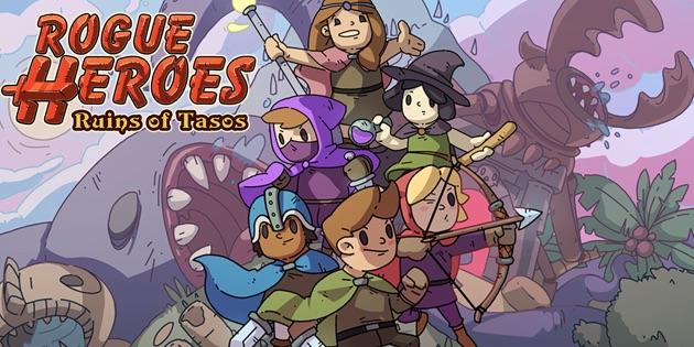 Newsbild zu Neuer Rogue-lite-Titel für eure Nintendo Switch – Rogue Heroes: Ruins of Tasos erscheint diesen Sommer