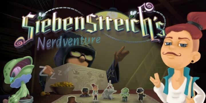 Newsbild zu Kickstarter-Kampagne möchte Siebenstreich's Nerdventure auf die Nintendo Switch katapultieren