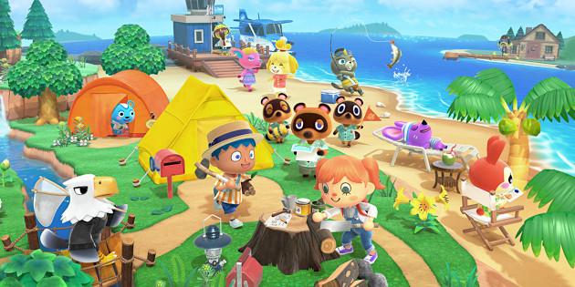 Newsbild zu Bildschirmfotos, Videos, Anzahl der Bewohner und mehr zu Animal Crossing: New Horizons veröffentlicht
