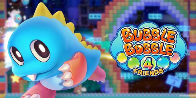 Newsbild zu Bubble Bobble 4 Friends erhält limitierte Handelsversion und beinhaltet das Original-Spiel von 1986