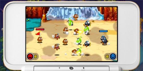 Newsbild zu Schergen-Trailer zu Mario & Luigi: Superstar Saga + Bowsers Schergen zeigt den Kampf im Königreich Bohnenland