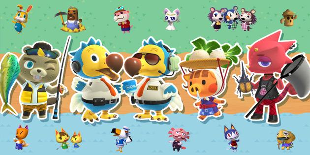Newsbild zu Super Smash Bros. Ultimate: Geister-Event mit vier neuen Geistern aus Animal Crossing: New Horizons angekündigt