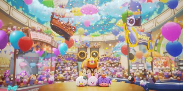 Newsbild zu Veröffentlichungstrailer stimmt auf die Party im Mehrspieler-Hit Disney TSUM TSUM Festival ein