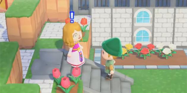 Newsbild zu Fan rekonstruiert Schlossgarten aus Ocarina of Time in Animal Crossing: New Horizons