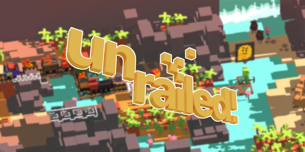 Unrailed! - Logo