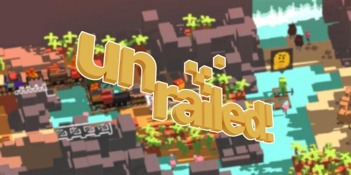 Newsbild zu Unrailed! ist die nächste physische Veröffentlichung bei Super Rare Games