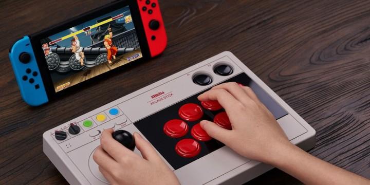 Newsbild zu 8BitDo Arcade Stick für die Nintendo Switch angekündigt