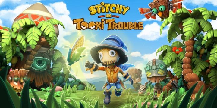 Newsbild zu Von Donkey Kong Country inspiriert: Stitchy in Tooki Trouble für die Nintendo Switch angekündigt