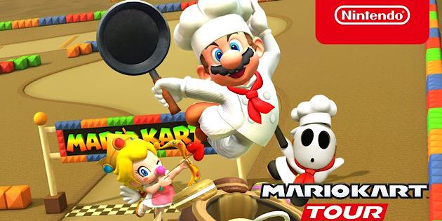 Newsbild zu Eine weitere Delikatesse erwartet euch: Die Chefkoch-Tour-Saison in Mario Kart Tour hat begonnen