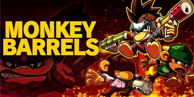 Newsbild zu Erstes Gameplay-Material zu Monkey Barrels veröffentlicht