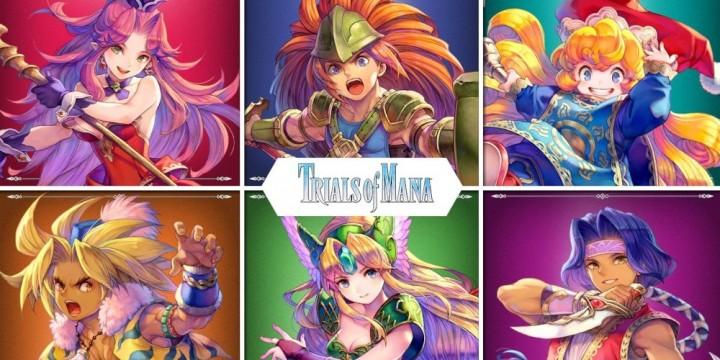 Newsbild zu Square Enix feiert 25 Jahre Trials of Mana – Update 1.1.0 erscheint am 14. Oktober