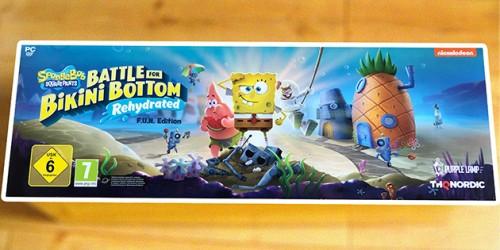 Newsbild zu Unser Unboxing- und Meinungsvideo zur F.U.N. Edition von Spongebob Schwammkopf: Battle for Bikini Bottom - Rehydrated
