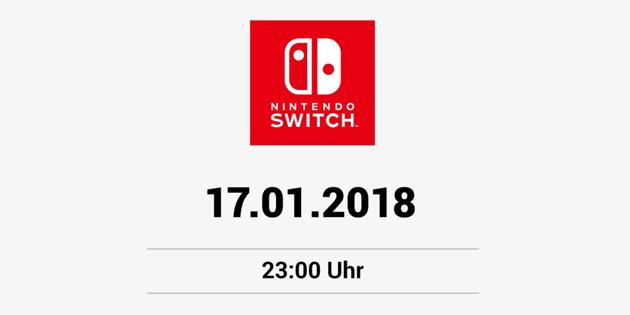 Nintendo bereitet für heute Abend etwas vor