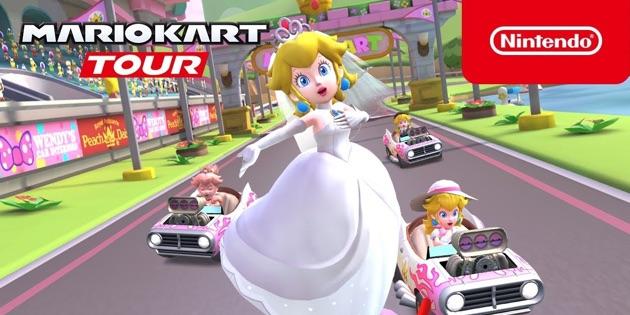 Newsbild zu Mario Kart Tour: Die Peach-Tour-Saison läutet die Hochzeitssaison ein