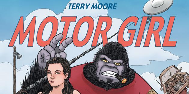 Newsbild zu Comic-Rezension: Motor Girl