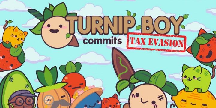 Newsbild zu Steckrübe begeht Steuerhinterziehung: Turnip Boy Commits Tax Evasion soll 2021 auch für die Nintendo Switch erscheinen