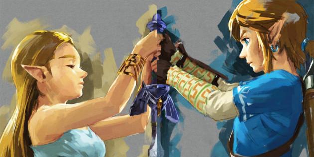 Newsbild zu Fanart: Die Charaktere aus The Legend of Zelda: Breath of the Wild als amiibo-Figur