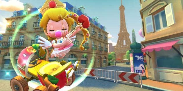 Newsbild zu Mario Kart Tour erhält niedliche Liebesbotin