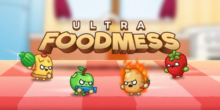 Newsbild zu Mit Essen spielt man nicht? – Ultra Foodmess erscheint im August für die Nintendo Switch