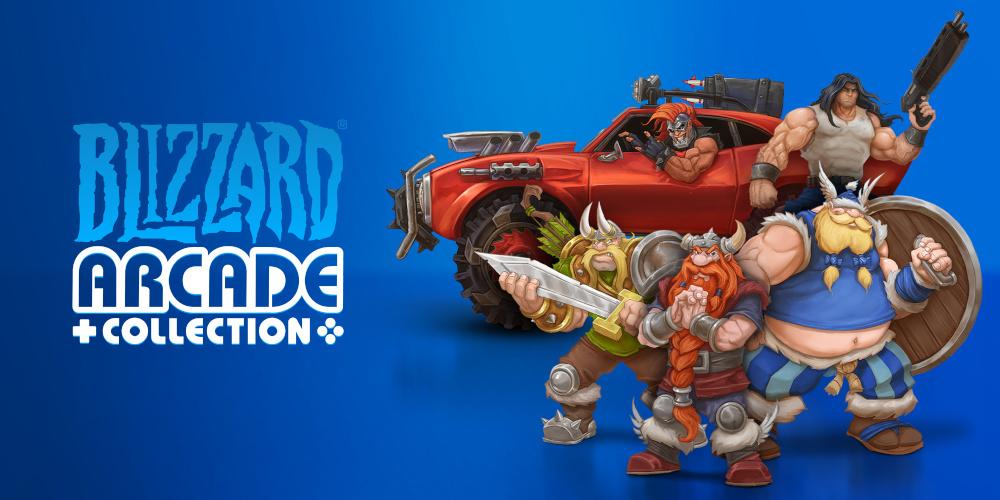 Blizzard Arcade-Sammlung - Keyart