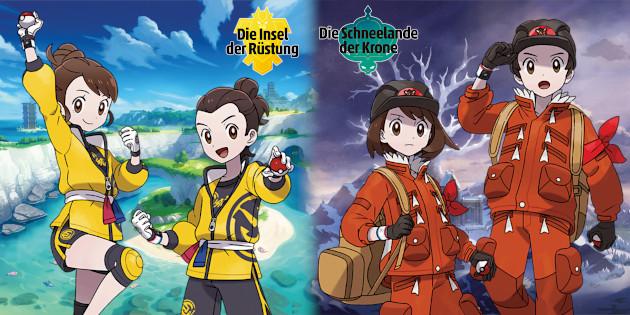 Newsbild zu The Pokémon Company enthüllt Galar-Lahmus und neue Szenen zu den DLC-Szenarien für Pokémon Schwert und Schild