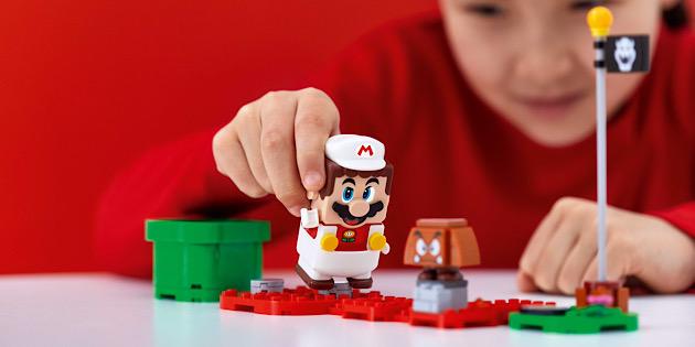 Newsbild zu Entdeckt neue Spielmöglichkeiten: Nintendo kündigt Anzug-Bausets für LEGO Super Mario an