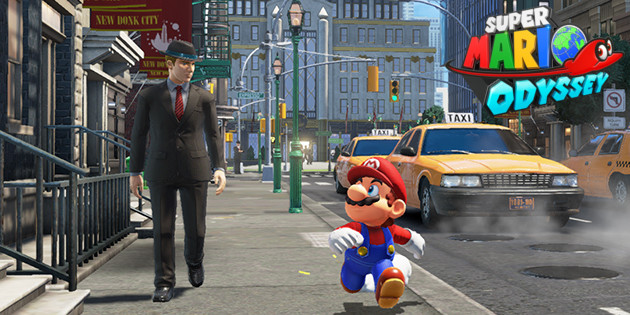 Nintendo Switch: Super Mario Odyssey Gameplay-Videos