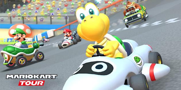 Newsbild zu Mario Kart Tour: Neuestes Update erweitert die Mehrspieler-Erfahrung