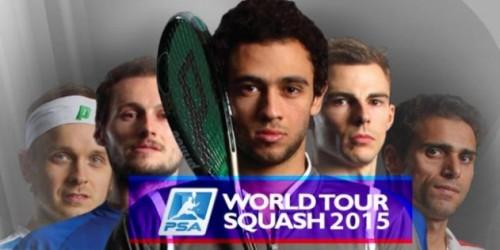 Newsbild zu PSA World Tour Squash 2015 erscheint im Mai für die Wii