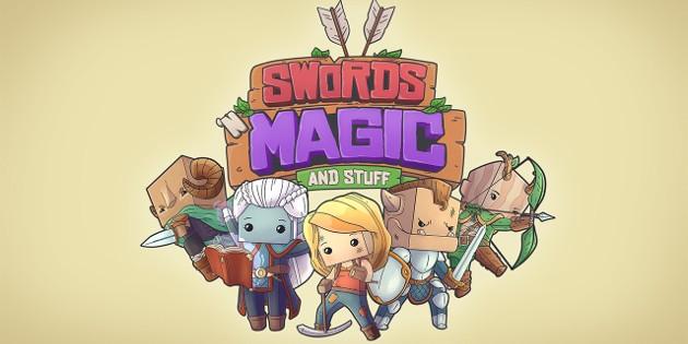 Newsbild zu Swords 'n Magic and Stuff erscheint nach erfolgreicher Kickstarter-Kampagne für die Nintendo Switch