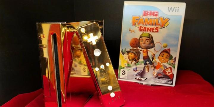 Newsbild zu Einst ein Geschenk für Queen Elizabeth – Vergoldete Wii kann bei eBay für einen schmalen Taler ergattert werden