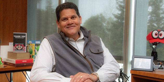 Newsbild zu Reggie Fils-Aimé schließt sich der Unternehmensleitung von Spin Master an