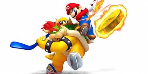 Newsbild zu Tower-Duell: Dennis vs. Eric (Mario Sports Mix - Hockey)