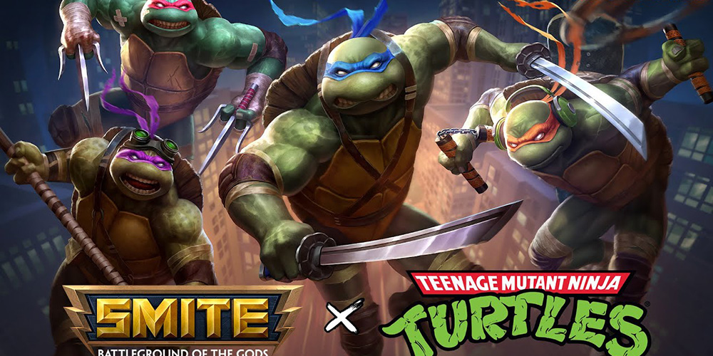SMITE x Teenage Mutant Ninja Turtles