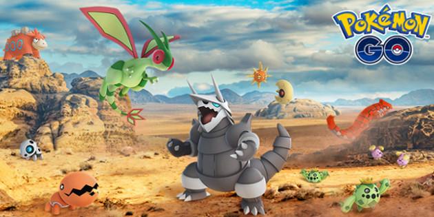 Weitere Pokémon aus der Hoenn-Region sind in Pokémon GO gesichtet worden!