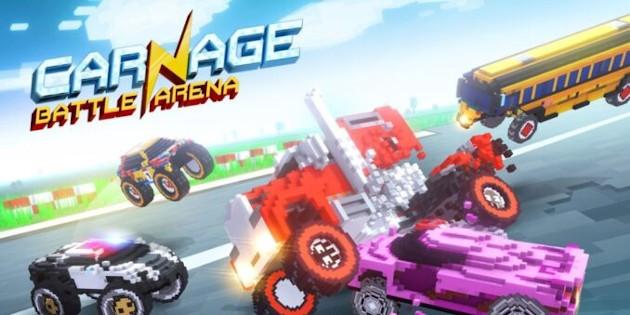 Newsbild zu Fun-Racer Carnage: Battle Arena erscheint bereits Mitte Mai