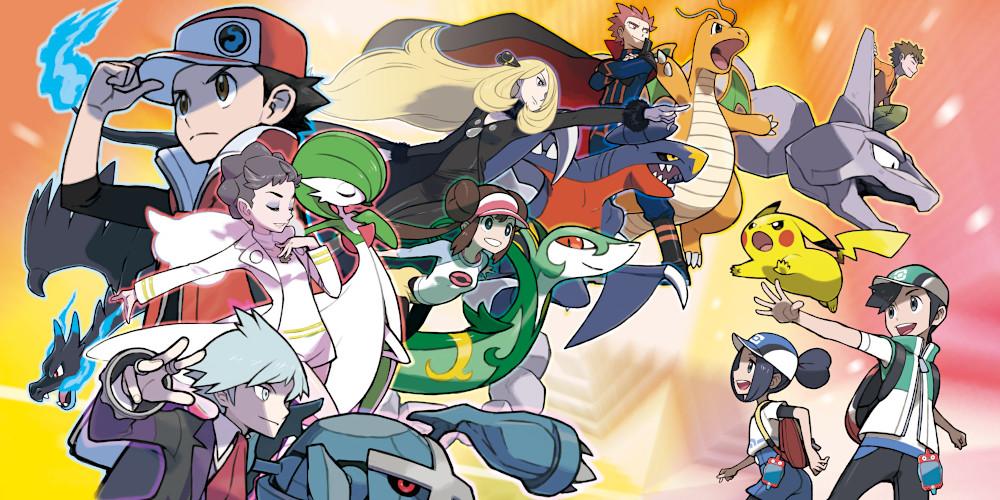 Pokémon Masters - Keyart