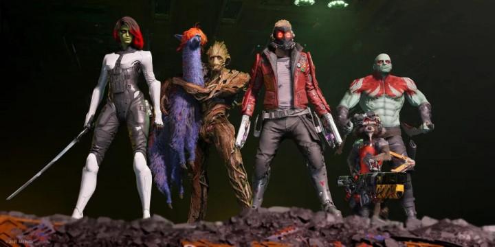 Newsbild zu Herkunft, Verbündete und Waffen – Drei neue Entwicklervideos zu Marvel's Guardians of the Galaxy veröffentlicht