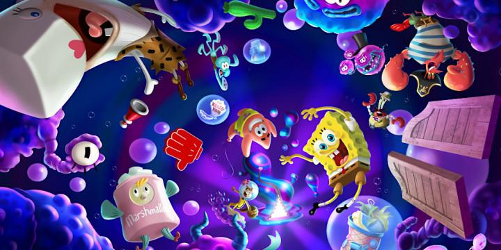 Newsbild zu SpongeBob Schwammkopf: The Cosmic Shake feiert Ankündigung mit musikalischem Trailer