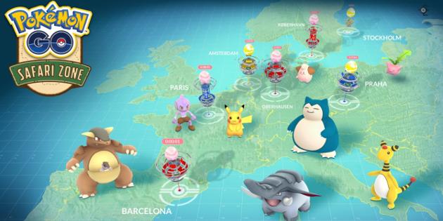 Pokémon GO: Details zum Fest in Chicago und zu den europäischen Safari Zone Events